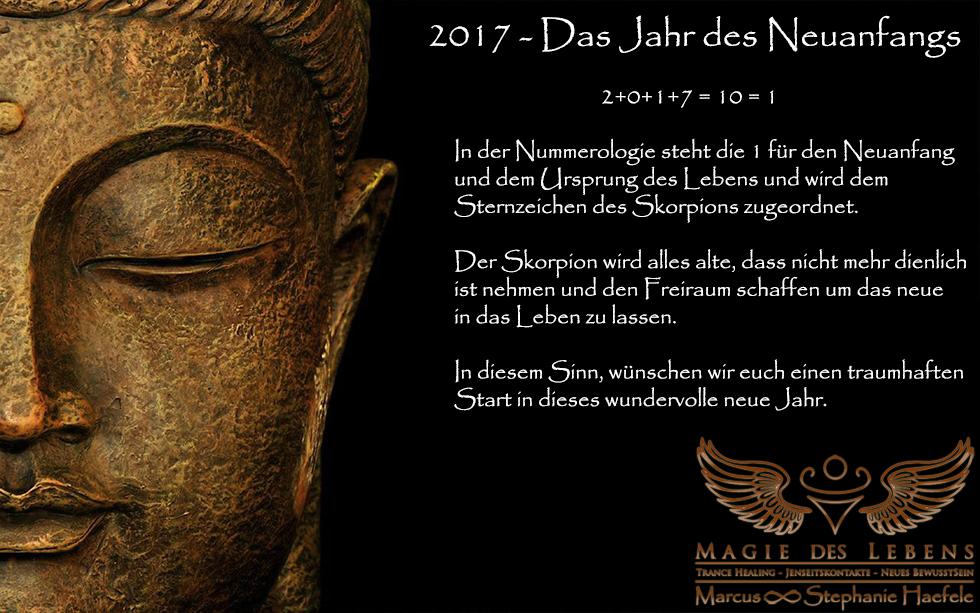 Ein gesegnetes neues Jahr 2017   Magie des Lebens   Praxis für ...